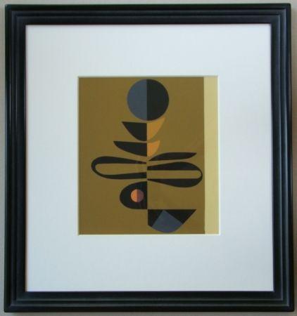 Sérigraphie Pillet - Composition, 1967
