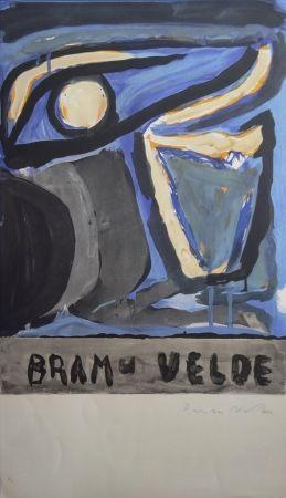 Lithographie Van Velde - Composition 1970
