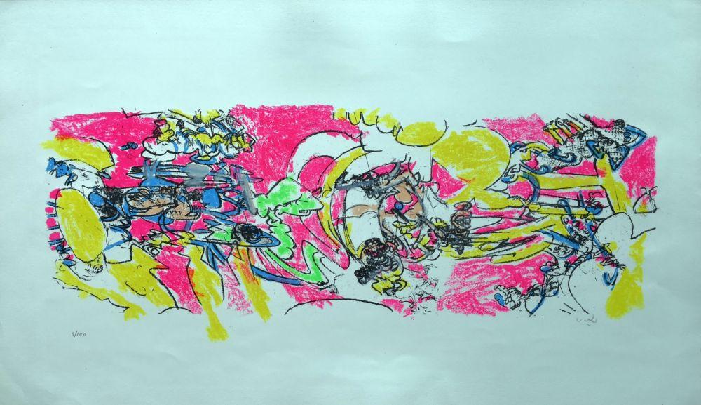 Lithographie Matta - Composition 2