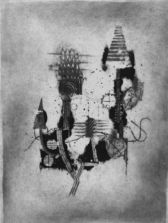 Eau-Forte Friedlaender - Composition 2