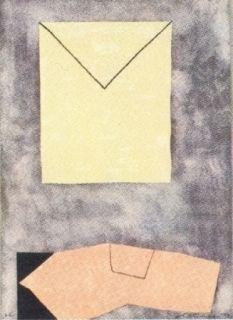 Lithographie Santomaso - Composition 2