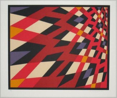 Lithographie Hinterreiter - Composition 2