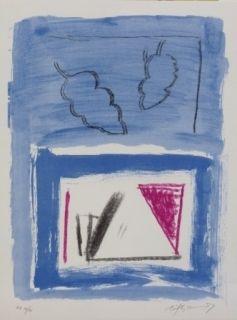 Lithographie Ràfols Casamada - Composition 21