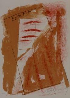 Lithographie Ràfols Casamada - Composition 22