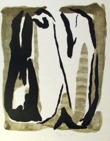 Lithographie Van Velde - Composition 242