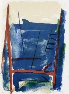 Lithographie Ràfols Casamada - Composition  25