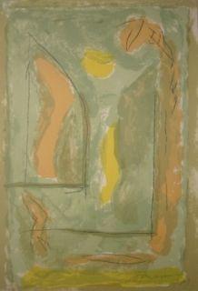 Lithographie Ràfols Casamada - Composition 26