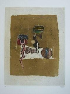 Gravure Friedlaender - Composition 27