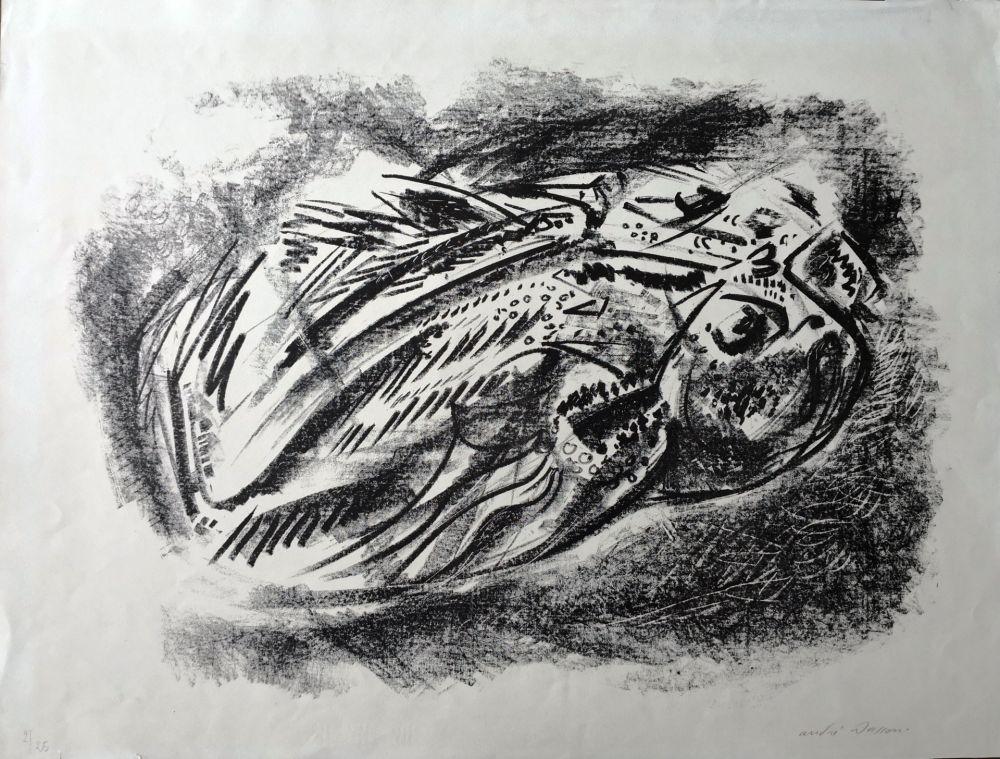 Lithographie Masson - Composition 3