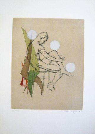 Eau-Forte Et Aquatinte Jean - Composition