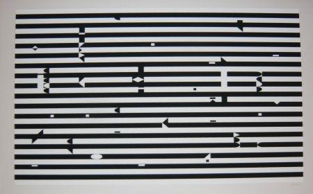 Sérigraphie Agam - Composition 3