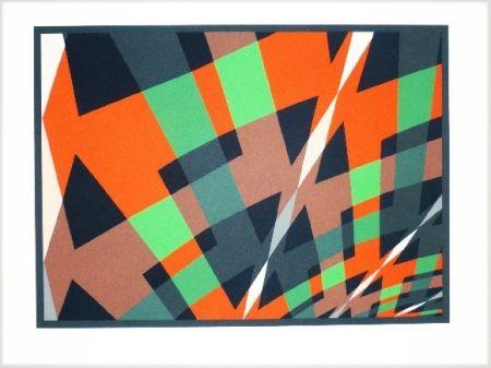 Lithographie Hinterreiter - Composition 3