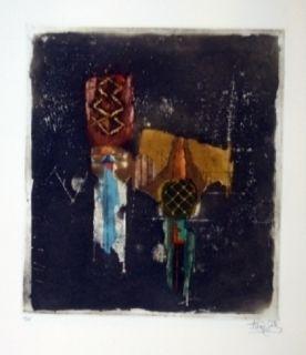 Gravure Friedlaender - Composition 37