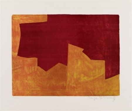 Lithographie Poliakoff - COMPOSITION 39