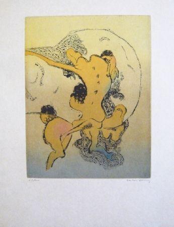 Eau-Forte Et Aquatinte Tanning - Composition 4