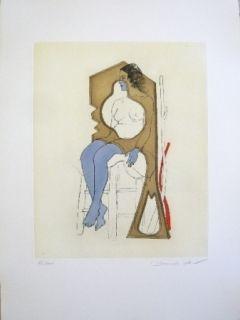 Eau-Forte Et Aquatinte Jean - Composition 4