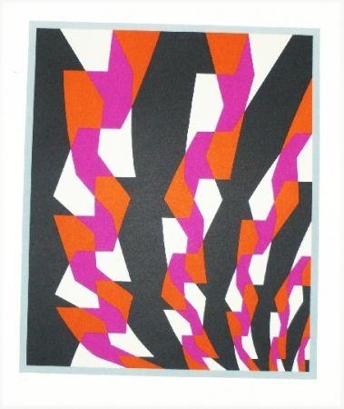 Lithographie Hinterreiter - Composition 5