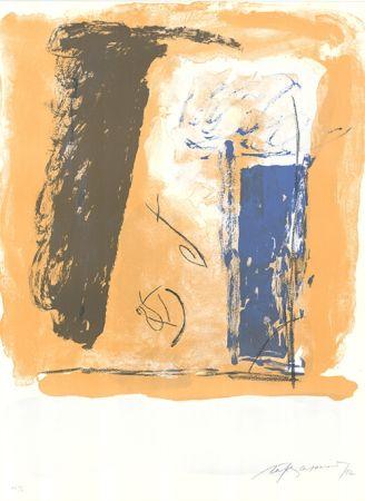 Lithographie Ràfols Casamada - Composition 51