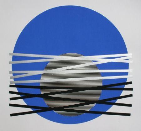 Sérigraphie Soto - Composition 6