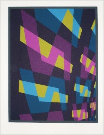 Lithographie Hinterreiter - Composition 6