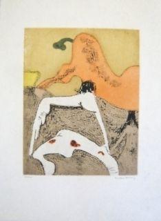 Eau-Forte Et Aquatinte Tanning - Composition 7