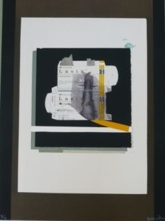 Lithographie Garcia Ponce - Composition 8