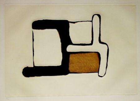 Eau-Forte Et Aquatinte Marca Relli - Composition 9