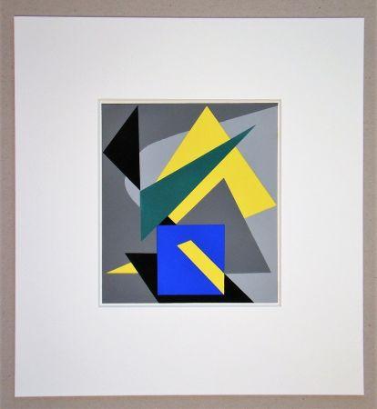 Pochoir Bloc - Composition abstrait