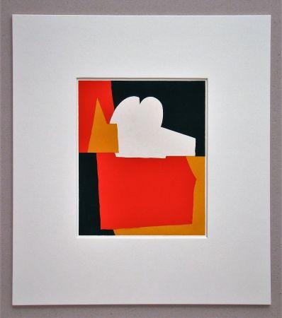 Pochoir Poliakoff - Composition abstrait