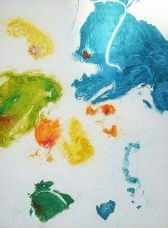 Gravure En Joong - Composition abstraite