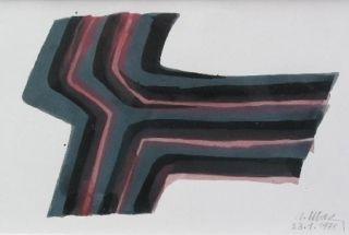 Aucune Technique Ubac - Composition Abstraite 2