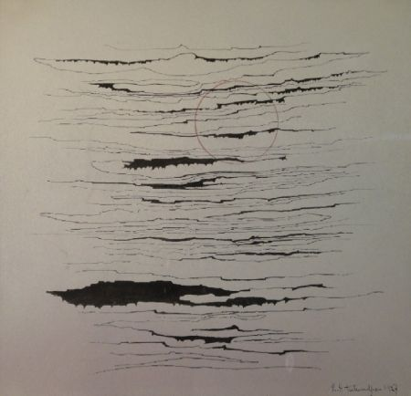 Monotype Tutundjian - Composition abstraite /Abstrakte Komposition