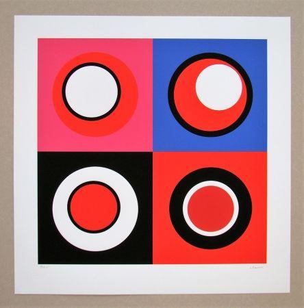 Sérigraphie Claisse - Composition géométrique