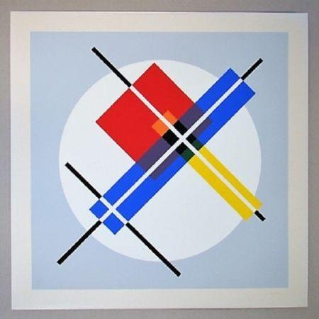 Sérigraphie Gorin - Composition géométrique