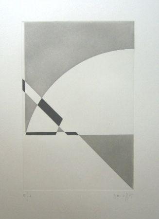 Gravure Honegger - Composition géométrique 3
