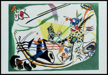 Lithographie Kandinsky (After) - COMPOSITION II
