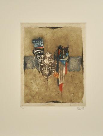 Eau-Forte Et Aquatinte Friedlaender - Composition II