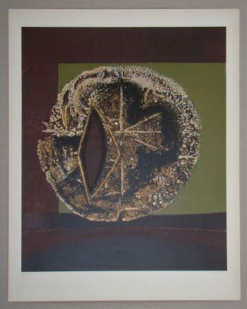 Sérigraphie Piaubert - Composition III. - 1964
