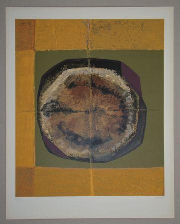 Sérigraphie Piaubert - Composition IV. - 1964