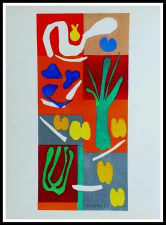 Lithographie Matisse - COMPOSITION MARINE