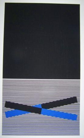 Sérigraphie Soto - Composition op art