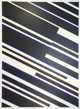 Sérigraphie Fruhtrunk - Composition op art