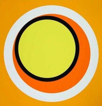 Sérigraphie Claisse - Composition orange