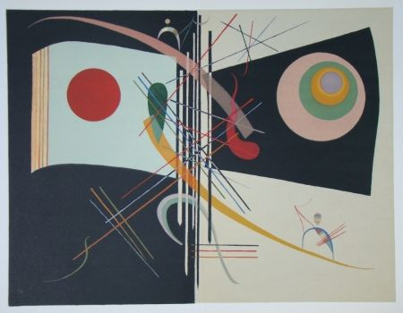 Lithographie Kandinsky - Composition, période parisienne 1934-1944