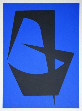 Lithographie Forani - Composition pour Art Abstrait