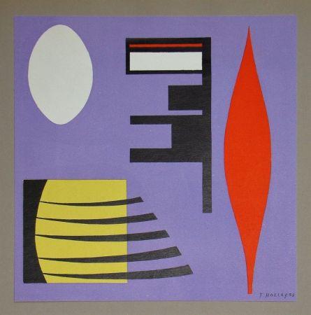 Lithographie Holley - Composition pour Art Abstrait