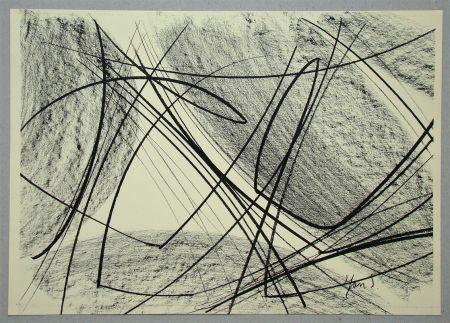 Lithographie Saverys - Composition pour Art Abstrait