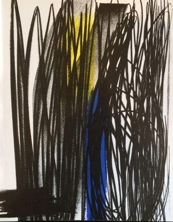 Lithographie Hartung - Composition pour xx siècle