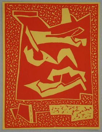 Gravure Sur Bois Magnelli - Composition pour XXe Siècle