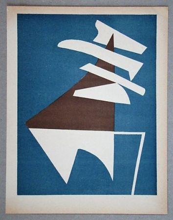 Lithographie Magnelli - Composition Pour Xxe Siècle